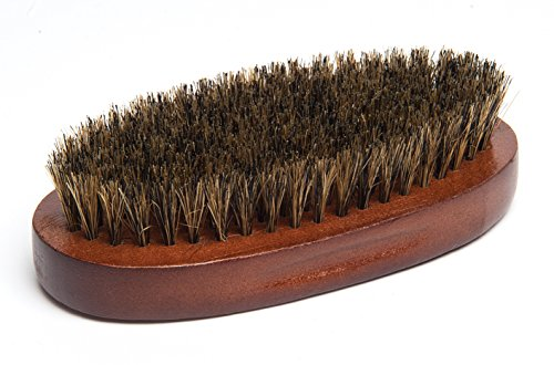 Diane Men's 100% Boar Bristle Medium Military Style Brush.