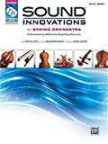 Sound Innovations String Orchestra Book 1 Cello with CD/DVD
