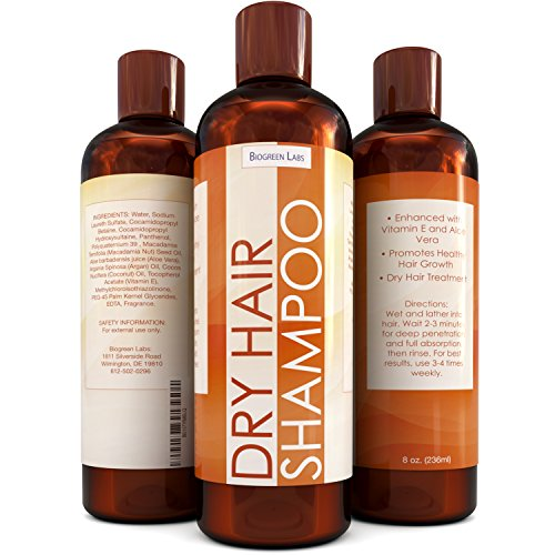 Shampoo For Dry Hair and Scalp – Nourishing Hair Oil Treatment Shampoo For Women & Men – Dry Hair Therapy For Damaged & Frizzy Hair With 100% Pure Jojoba and Almond Oil- Perfect For Color Treated Hair