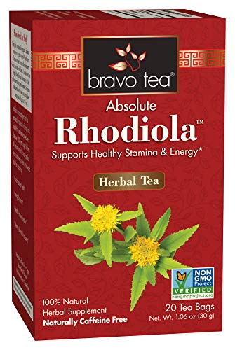 Bravo Teas & Herbs Absolute Tea Bag, Rhodiola, 20 Count