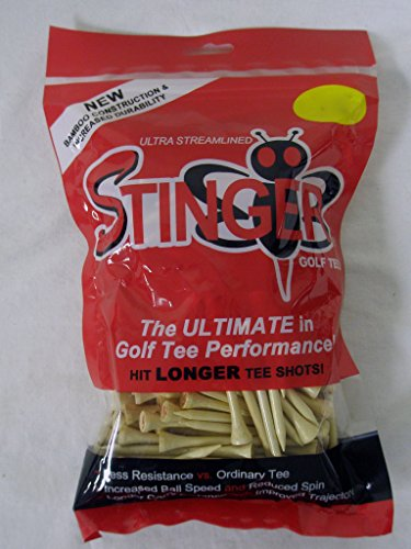 Stinger Pro XL Golf Tees 175 Count Cream 3 1/4 in