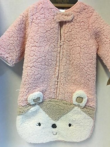 Price comparison product image Chick Pea Sleep Sack/Swaddle Bag Pink Bear (0-3mos)