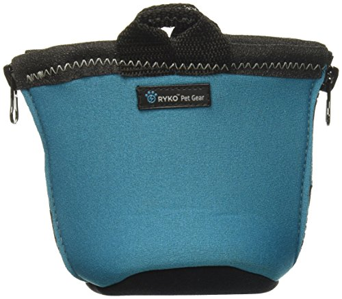 Paxbowl Portable Dog Bowl Fits Nalgene And Hydroflask Travel Outdoors For Hiking Hydration And Insulation, Collapsible, Bpa Free Leak Free Liner, Fits 32-40Oz Water Bottles, Ryko Pet Gear (Teal)