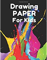 Drawing Paper for Kids: 110-pages Pad