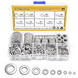 Sutemribor 304 Stainless Steel Flat Washers Set 580