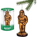 Accoutrements Bigfoot Glass Ornament Christmas Tree Decor Gift Funny Gift