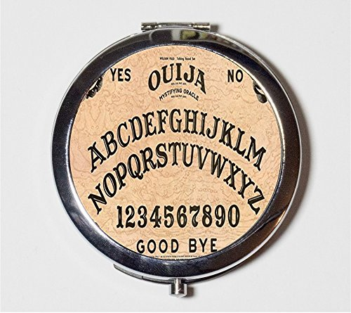 (Ouija Board Compact Mirror Spirit Ghosts Goth Halloween Make Up Pocket Mirror for)