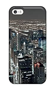 New Style Iphone 5/5s Case Cover Skin : Premium High Quality Chicago City Case