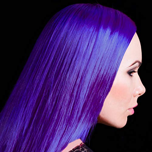 Manic Panic Ultra Violet Purple Color Cream – Classic High Voltage - Semi-Permanent Hair Dye - Vivid, Purple Shade - For Dark, Light Hair – Vegan, PPD & Ammonia-Free - Ready-to-Use, No-Mix Coloring