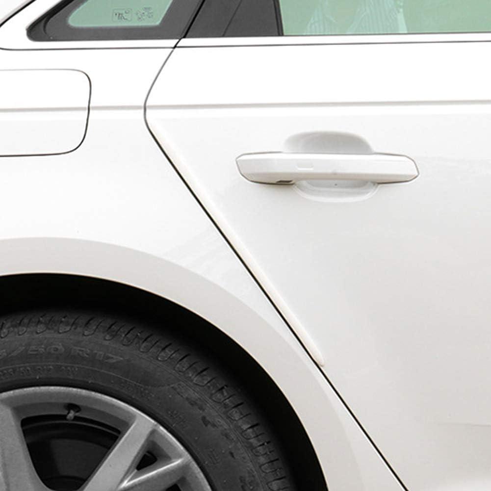 idain 4 PCS Car Auto Car Door Edge Protector Scratch Strip Guards Front Rear Bumper Protector Corner Guard,Red