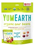 gummy bear cereal - YumEarth Organic Sour Beans, 10 snack packs