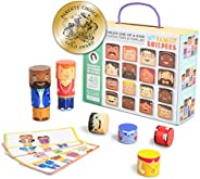 My Family Builders Diversity Building Blocks with Magnets – Build People Figures to Foster Cultural Inclusion