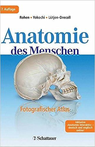Anatomie des Menschen fotografischer Atlas der systematischen und ...