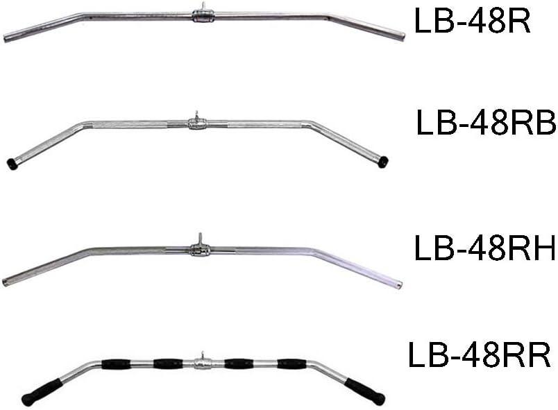 "Ader 48/"" Solid Cable Attachment Revolving Lat Bar LB-48R"
