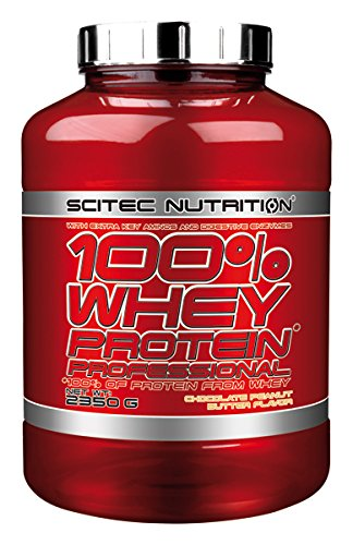 100% whey protein professional - 5.18 lbs - Chocolat Peanut Butter - Scitec nutrition by Scitec Nutrition