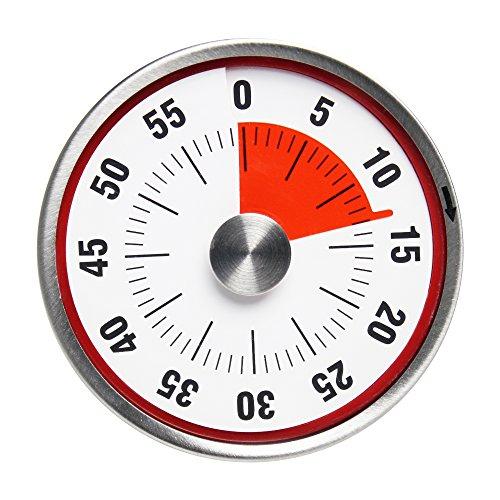 BALDR B8002 Kitchen Timer, Red -