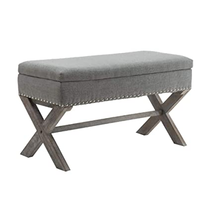 Rockers, Gliders Ottoman Light Grey White Consumers First