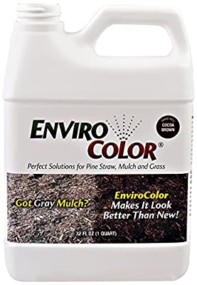2,400 Sq. Ft. Cocoa Brown Mulch color concentrate