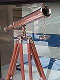 Nauticalmart Floor Standing 18'' Single Barrel Astro Telescope