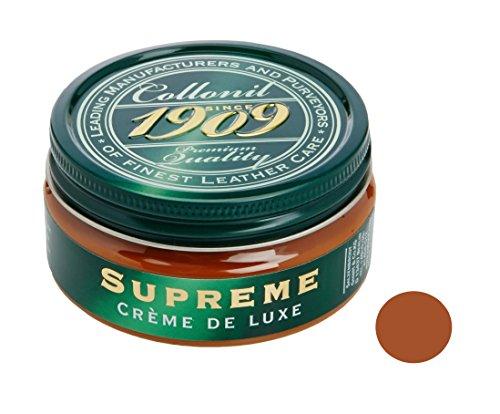 Collonil Tan Leather Shoe Cream. Revives Color & Nourishes Leather,Light Brown,5 ounces