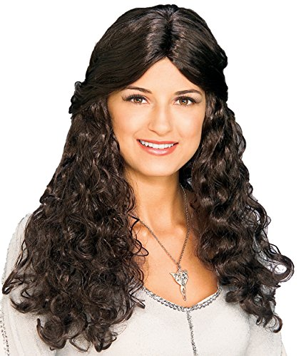 UHC Lord of the Rings Arwen Renaissance Style Wavy Wig Halloween Accessory