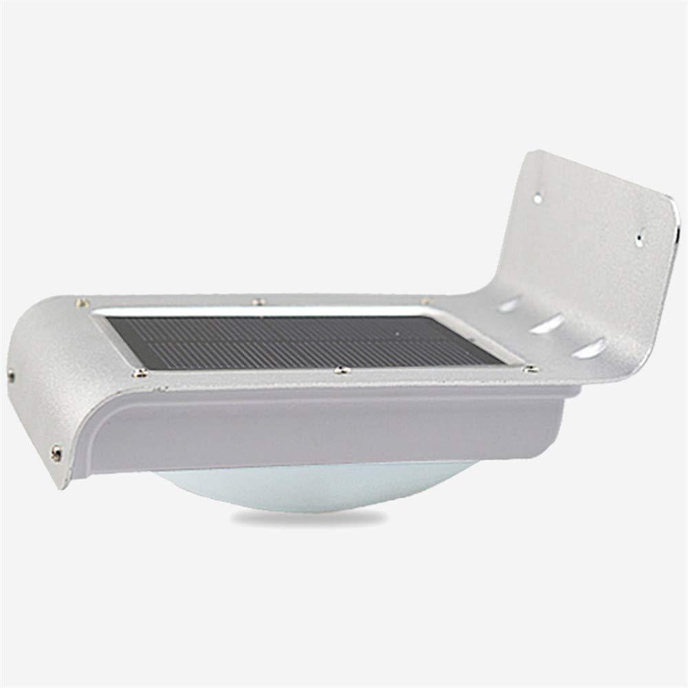 HRCxue Außenwandleuchten Solarlicht im freien wandleuchte wasserdichte schallschutz induktion führte garten licht hause wandleuchte straßenlaterne 13,5  9,2  8 cm korrosionsBesteändigkeit