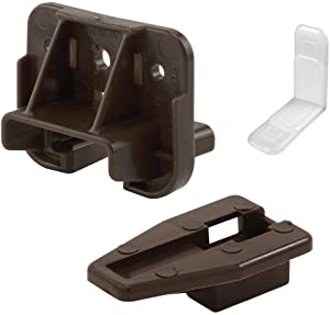 Prime-Line R 7321 Drawer Track Guide and Glides - Replacement Furniture Parts for Dressers, Hutches and Night Stand Drawer Systems (6)