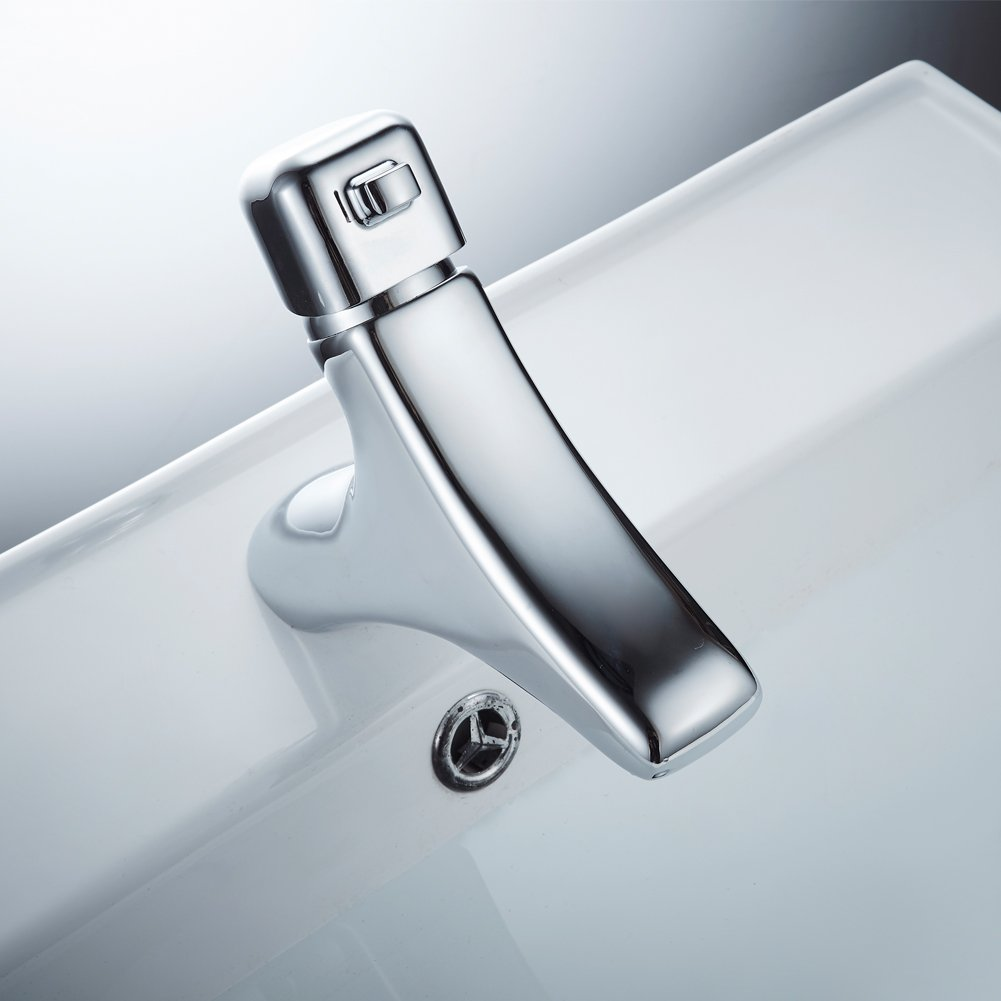 MissMin modern Chrome bathroom faucets-one hole vessel sink faucet ...