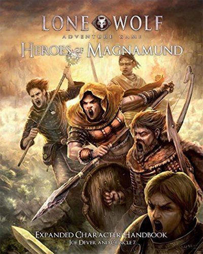 Lone Wolf Heroes of Magnamund (Lone Wolf The Board Game)