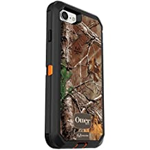 OtterBox DEFENDER SERIES Case for iPhone 7 (ONLY) - Retail Packaging - REALTREE XTRA (BLAZE ORANGE/BLACK/XTRA DESIGN)