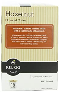 Gloria Jean's Coffees, Hazelnut Coffee, K-Cup for Keurig Brewers