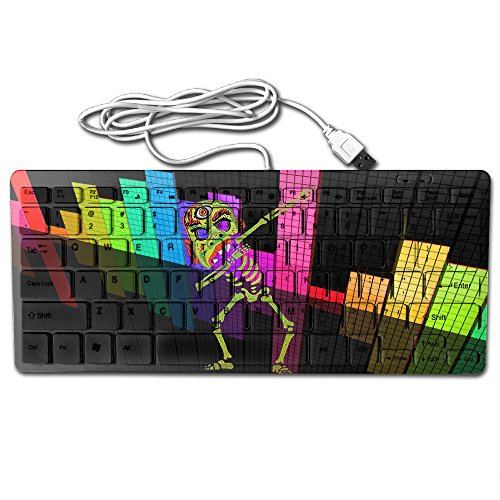It's Never Too Early For Halloween Skeleton Funny Ultra-Slim 78 Keys Gaming Keyboard Can Apply Or Be Used Universally]()