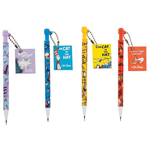Raymond Geddes Dr. Seuss Mechanical Pencil with Mini Notebook, 24/Tub (70623) -