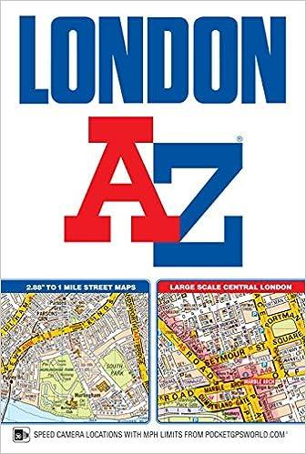 London Atlas Map.London Street Atlas Amazon Co Uk Geographers A Z Map Co Ltd