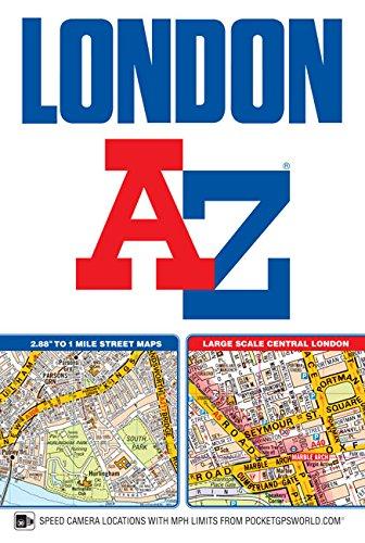 london street atlas amazoncouk geographers a z map co ltd 9781782571322 books