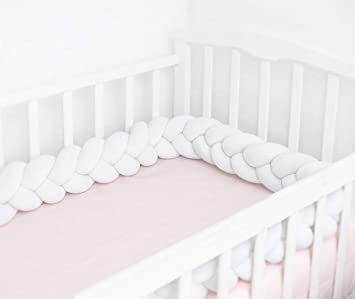 Dark Gray Baby bumper bed