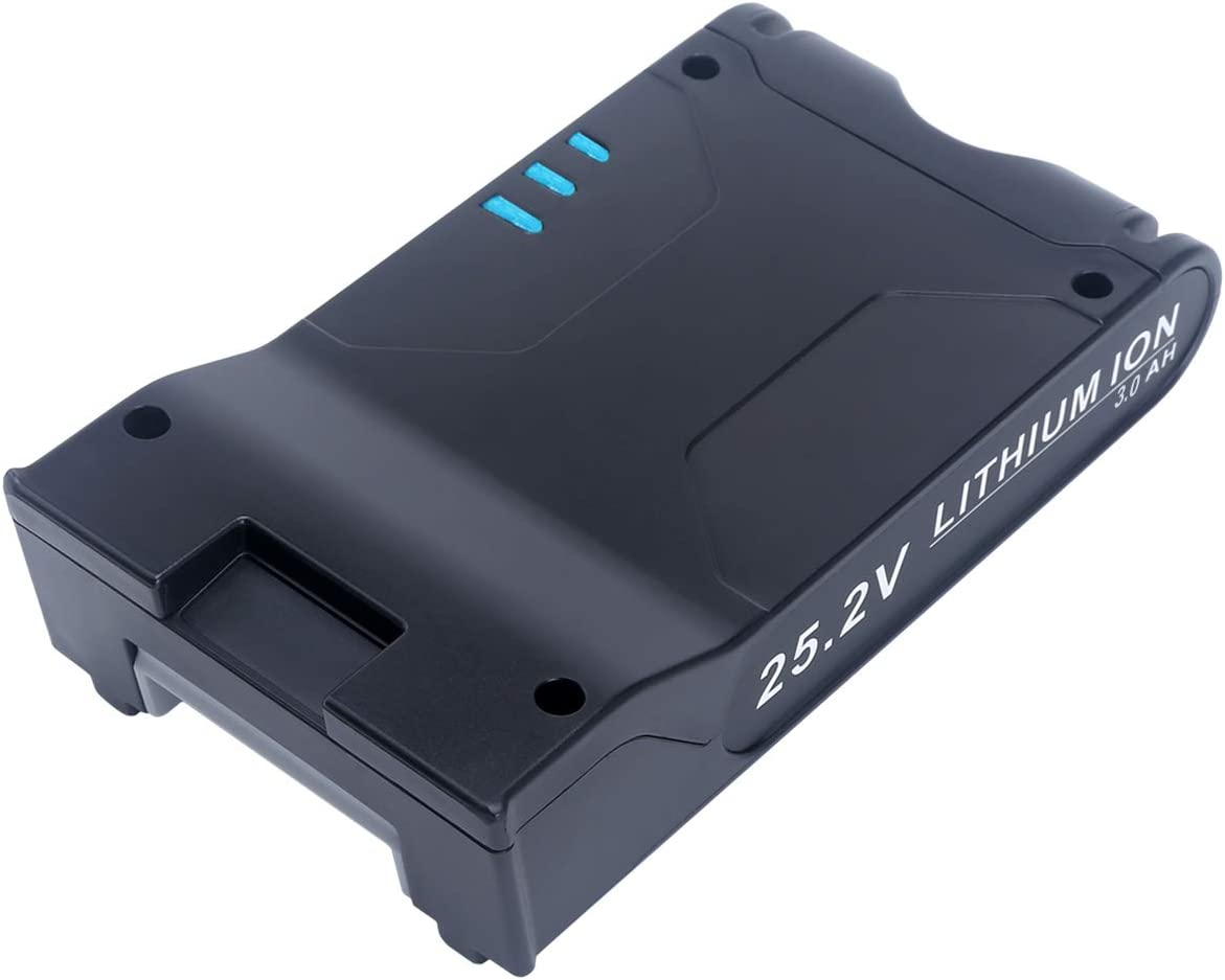 2450mAh 25.2V Battery for Shark ION IONFlex I Cordless Vacuum Cleaners XBAT200