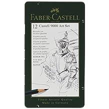 Faber-Castell Castell 9000 Pencil Set 12-Pencil Art Set
