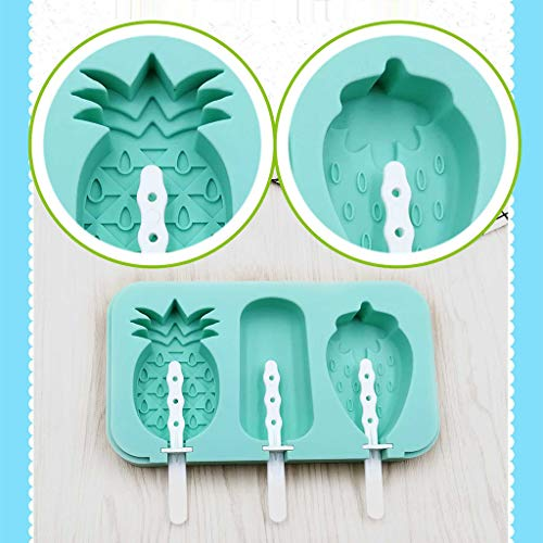 (Disposable Ice Popsicle Mold Bags| BPA Free Freezer Tubes With Zip Seals | For Healthy Snacks, Yogurt Sticks, Juice & Fruit Smoothies, Ice Candy Pops| Comes With A Funnel)
