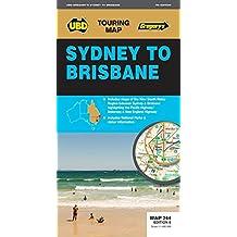 Sydney to Brisbane Map 244 7th ed