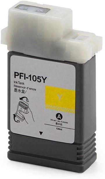 DYJXG Cartucho de Tinta PFI-105 Compatible iPF 6300S / 6350S ...