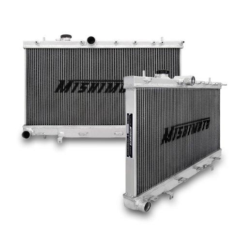 Mishimoto MMRAD-WRX-01 Manual Transmission Performance Aluminium Radiator for Subaru Impreza WRX and STI by Mishimoto
