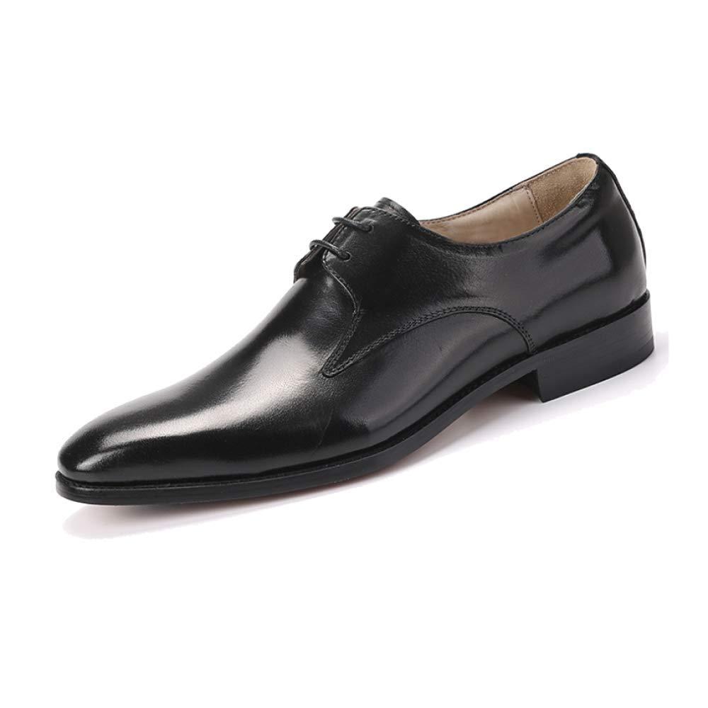 schwarz NIUMT Arbeitsschuhe, Business, Niedrige Schuhe, Mode, Spitz, Stilvoll und Bequem, Hochzeitsschuhe