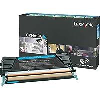 Lexmark C73x, X73x Rückgabe-Tonerkassette Cyan (ca. 6.000 Seiten)(13)