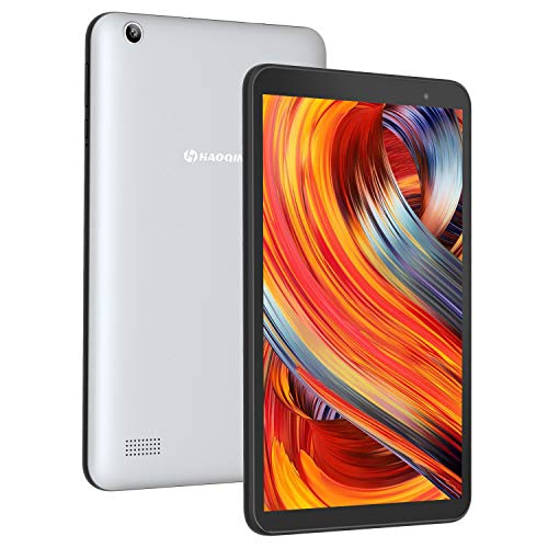 HAOQIN H8 Pro Android Tablet 8 Inch 2GB RAM – Android 9.0 Quad Core Processor 32GB Storage Tablet PC with WiFi Bluetooth Dual Camera Google Certified (Grey)