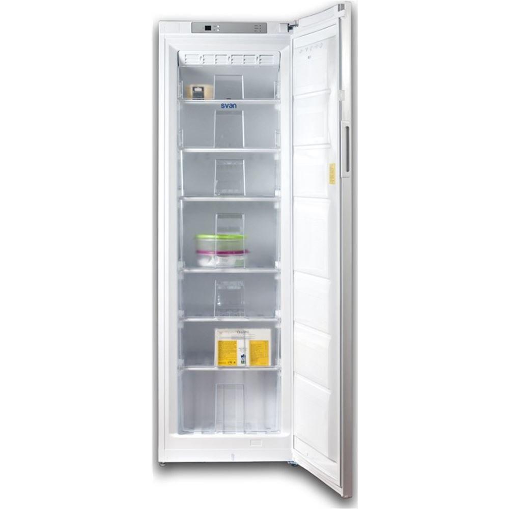 Svan congelador vertical svc1861nf no frost clase a++: Amazon.es ...