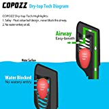 COPOZZ Snorkel Mask Set for Snorkeling Scuba Diving