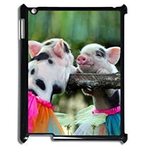 KSDHPNECASE Hot Selling Cover Custom Case Of Cute Pig,Handmade customized case For IPad 2,3,4