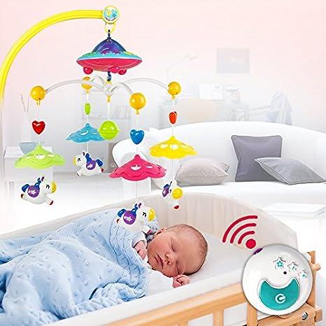 Flair Campana giratoria para móvil y proyector de estrella: Amazon ...