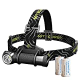 Nitecore HC30 Neutral White 1000 Lumens Compact Cree XM-L2 U2 LED Headlamp Headlight w/Two LumenTac CR123A Batteries